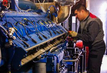 Обслуживание и плановый ремонт газопоршневой установки